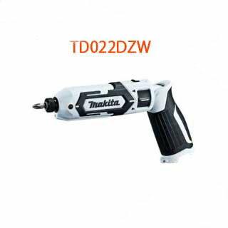 マキタ充電式ペンインパクトドライバー72Vバッテリ2個・充電器・ケース別売<TD022DZW・白>充