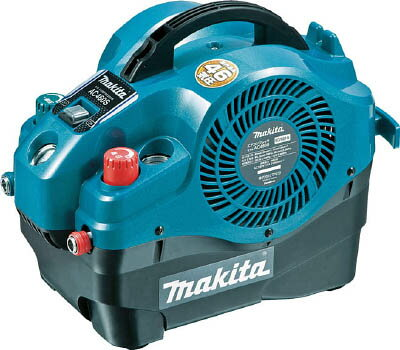 マキタ内装エアーコンプレッサー小型&軽量タイプ<AC460S・青>エアーブラシ静音電動工具激安通販お