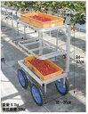 ハラックス 愛菜号 いちご収穫用ワゴン3段タイプ <SW-312>【送料無料】【HARAX 農家 農