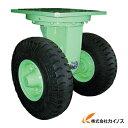 佐野車輌 超重量級キャスター ダブル自在車 荷重1500kgタイプ 284-1