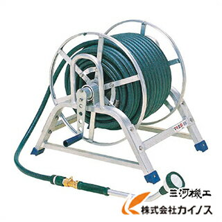 HARAX マキ太郎 WS-15-50 【条件付き送料無料】 オフィス住設用品 ホース・散水用品 ホースリールおいしい