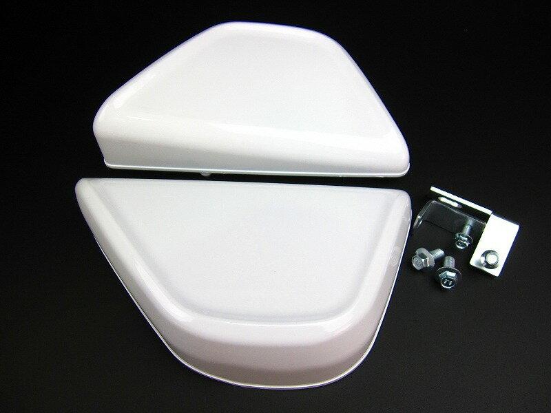 【あす楽】4Lモンキー サイドカバーデザイン左右セット白 カスタムパーツ NO2749