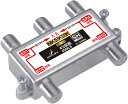 DXアンテナ 2K・4K・8K対応 4分配器 (全端子通電形) 4DMLS