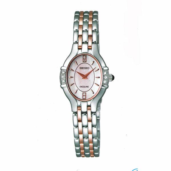 セイコー 女性用 腕時計 SWDX173 電池時計 SEIKO エクセリーヌ EXCELINE 名入れ刻印対応、有料 送料無料 取り寄せ品 【コンビニ受取対応商品】 SEIKO レディースウオッチ 婦人用