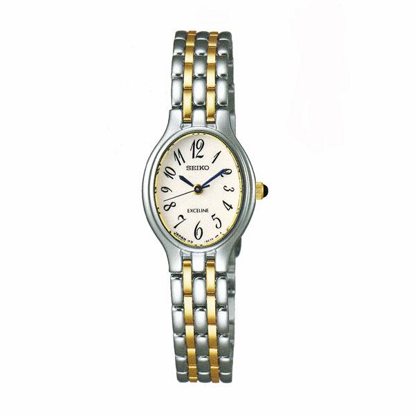 セイコー 女性用 腕時計 SWDX179 電池時計 SEIKO エクセリーヌ EXCELINE 名入れ刻印対応、有料 送料無料 取り寄せ品 【コンビニ受取対応商品】 SEIKO レディースウオッチ 婦人用