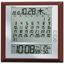 セイコー SEIKO 掛け時計置き時計兼用マンスリーカレンダー付きデジタル電波時計SQ421B 文字入れ対応、有料 取り寄せ品 05P03Sep16