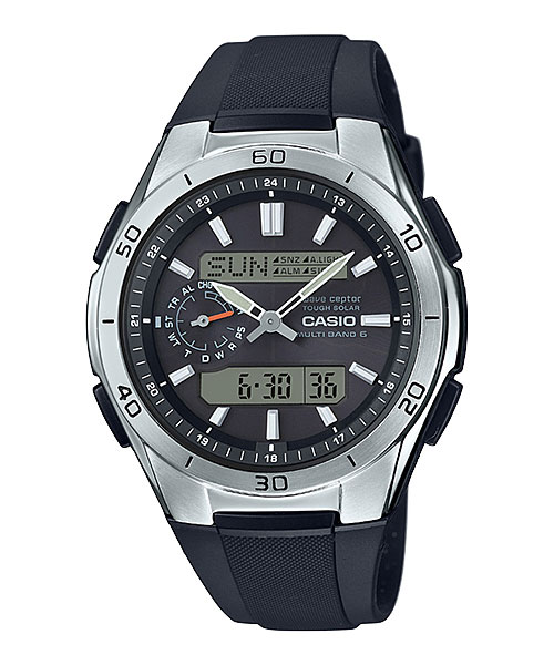 ソーラー 電波時計 メンズ 腕時計 CASIO カシオ ウェーブセプター WVA-M650-1AJF 取り寄せ品 【コンビニ受取対応商品】 CASIO WaveCeptor 光 あかりで発電するソーラートケイ
