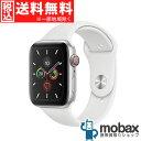 ◆5%還元対象◆【新品未開封品(未使用)】 Apple Watch Series 5 44mm GPS + Cellularモデル MWWC2J/A [シルバーアルミニウムケース..