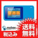 ※〇判定 【新品未使用】au版 WiMAX Speed Wi-Fi NEXT WiMAX2+ W01 [マリン]Wi-Fiルーター