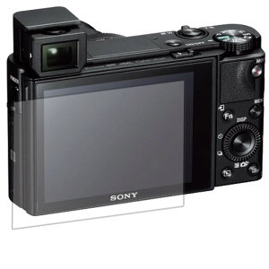 【反射防止】マットバブルレス 液晶保護フィルム SONY デジタルスチルカメラ Cyber-shot DSC-RX100M5用 ★