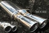 M35系ステージア AXIS専用90パイ2本出しD2マフラー