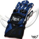 BERIK hardware protector racing glove BLUE ◎ G-5990-BK