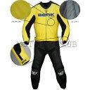 BERIK ベリック 2ピース セパレート レーシングスーツ LS2-9686-BK YELLOW/BLACK