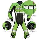 楽天MOTO GP CLUBツーリング応援セール BERIK ベリック 2.0 カンガルーレーシングスーツ LS1-10719K-BK GREEN  送料無料