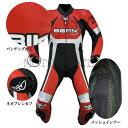 ツーリング応援セール BERIK ベリック 2.0 カンガルーレーシングスーツ LS1-10719K-BK RED 送料無料