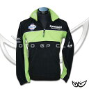 KAWASAKI RACING Kawasaki embroidery logo case team fleece T-1701-BOS