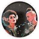 ロッキー・ホラー・ピクチャー・ショー リフ・ラフ&マジェンダ 缶バッジ Rocky Horror Picture Show Riff Raff & Magenta Badge