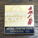 BMF モーターサイクル ショー 1991 ピンバッジ BMF MOTOR CYCLE SHOW 1