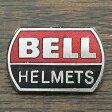 ベル ヘルメット ピンバッジ レッド/ブラック BELL HELMET Pin