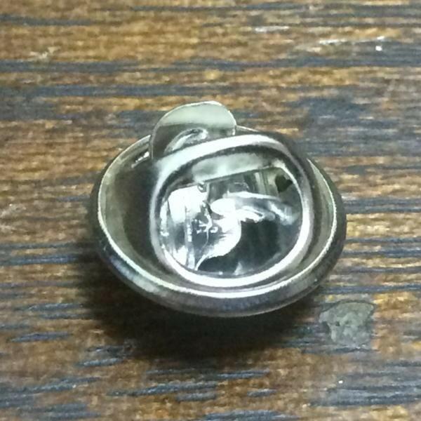 ピンバッジ用 バタフライ クラッチ シルバー Butterfly Clutch Silver