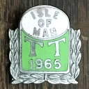 アイルオブマン TT 1965 ビンテージ ピンバッジ ISLE OF MAN TT 1965 Pin