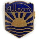 ショッピングアルビオン アルビオン モーター ビンテージ ボタンホール ピンバッジ Albion Motors Vintage Pin