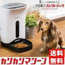 猫&犬ごはん用 自動給餌器 カリカリマシーン 1年保証 タイマー式音声録音機能付き オートペ