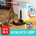 スマホ遠隔自動給餌器ペットカメラ付き カリカリマシーンSP 見れる話せる犬猫用自動給