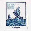 パタゴニア マラマ ホヌア 世界航海 キャンペーン ホクレア号 ステッカー Patagonia MA