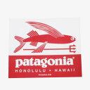 パタゴニア ホノルル ハワイ トライデントフィッシュ ステッ...