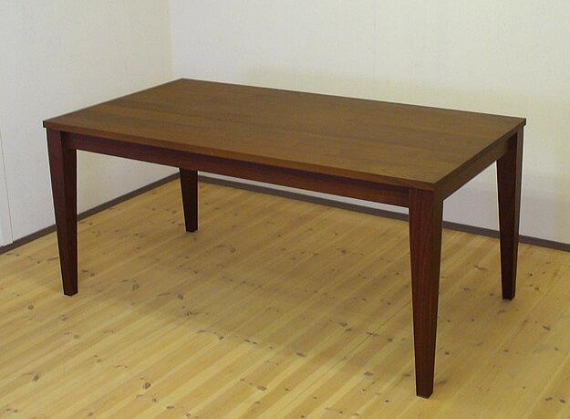 天然木ウォールナット無垢のダイニングテーブル 230cm×55cm 【送料無料】サイズ変更対応可能