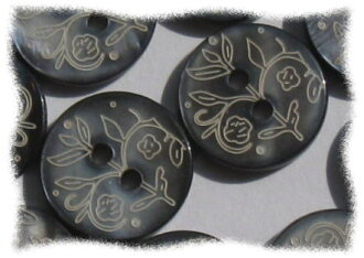 Price ↓ button floral shell ♪ diameter 1.5 cm 10 PCs