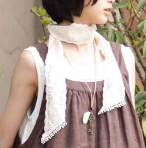 7 Cm width ♪ autumn too. Elegance rose torchon lace our original design! 5 colors