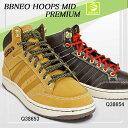 アディダス レザースニーカー BBネオフープスミッド プレミアム adidas ミッドカットスニーカー ハイカット レトロ adidas BBNEO HOOPS MID PUREMIUM