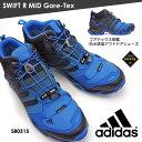 アディダス 防水アウトドアシューズ スウィフト R ミッド Gore-Tex S80315 B44136 トレッキング ゴアテックス メンズスニーカー adidas SWIFT R MID Gore-Tex ミッドカット