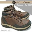 クラークス ランパートオン GTX 243E 防水メンズブーツ ゴアテックス アウトドア レザー Rampart On GTX