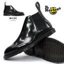 ドクターマーチン ヘンリー ワイルド ロー チェルシーブーツ 16775001 本革 メンズ ブーツ Dr.Martens HENLEY WILDE LOW C...