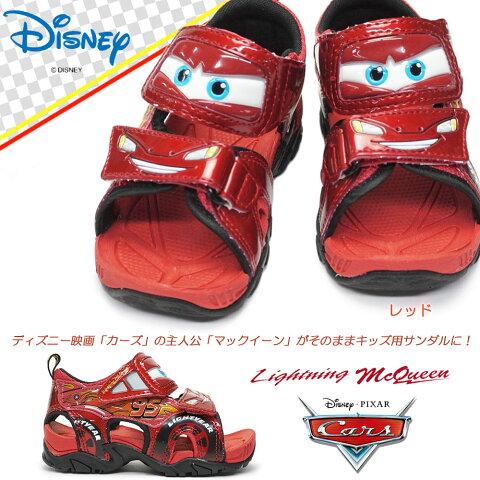 ディズニー カーズ C1195 子供サンダル マジック式 キャラクター 映画カーズ Disney Cars