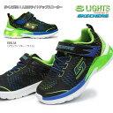 スケッチャーズ キッズ用 光る靴 90551N イラプターズ 子供スニーカー 面ファスナー SKECHERS S LIGHTS ERUPTERS 2 LAVA ARC