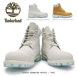 ティンバーランド アイコン シックスインチ プレミアムブーツ TPU 定番 正規品 メンズ 防水 本革 6インチ Timberland 6inch Premium Boots TPU