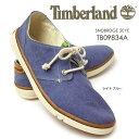 ティンバーランド サンドブリッジ ツーアイ 9834A メンズ ウォッシュド キャンバス カジュアル シューズ スニーカー Timberland SNDBRDGE 2EYE 9834A