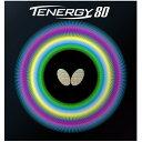 【7月20日は最大PT23倍以上!】卓球ラバー:Butterfly バタフライ 05930 テナジー80【Butterfly】【※ネコポス便送料無料】