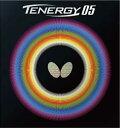【7月20日は最大PT23倍以上!】卓球ラバー:Butterfly 05800 テナジー・05【バタフライ】【※ネコポス便送料無料】【張本選手愛用】