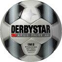 サッカー:ダービースター サッカーボール 「DERBYSTAR」 5号球 Apus PRO TT WHT/BLK Nr.1712
