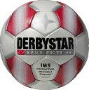 サッカー:ダービースター サッカーボール 「DERBYSTAR」 5号球 Apus PRO TT WHT/RED Nr.1713