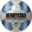 サッカー:ダービースター サッカーボール 「DERBYSTAR」 5号球 Apus PRO TT WHT/BLU Nr.1715【02P01Oct16】