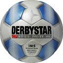 サッカー:ダービースター サッカーボール 「DERBYSTAR」 5号球 Apus PRO TT WHT/BLU Nr.1715