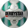 サッカー:ダービースター サッカーボール 「DERBYSTAR」 5号球 Apus PRO TT WHT/GRN Nr.1716【02P18Jun16】