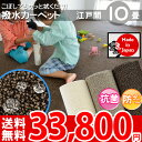 撥水カーペット 10畳 防音効果 352×440(江戸間10...