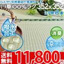 い草 ラグ 8畳 撥水 カーペット(赤ちゃん ペットOK)イ...